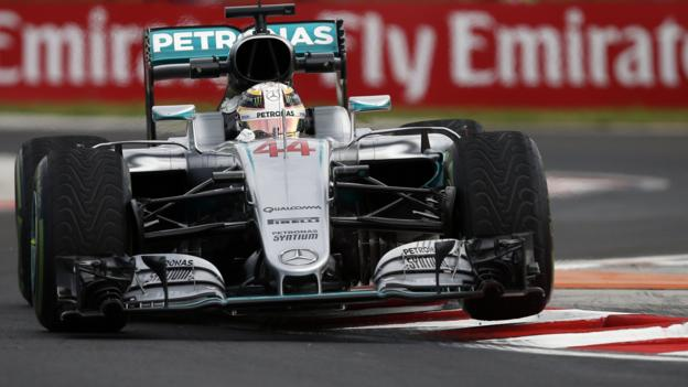 Hungarian Grand Prix: Lewis Hamilton heads Nico Rosberg as Mercedes dominate - BBC Sport