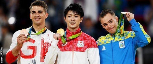Gymnastics medallists