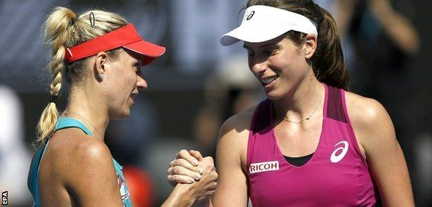 Australian Open 2016: Johanna Konta Dikalahkan Angelique Kerber