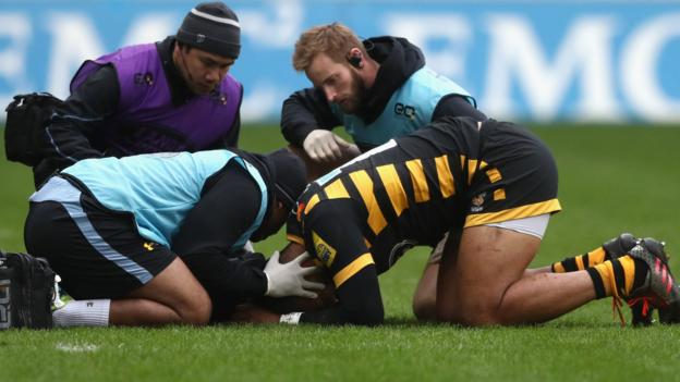 Concussion is most commonly reported premiership match injury bbc sport - English rugby union league tables ...