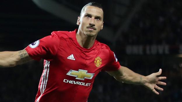 Ibrahimovic re-signs for Man Utd on one-year deal