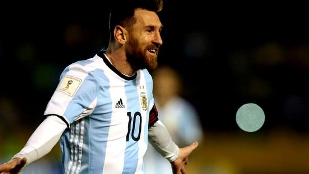 Watch - Messi hat-trick fires Argentina to World Cup
