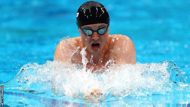Ross Murdoch could only finish fourth in the 200m breaststroke