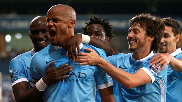Vincent Kompany: Manchester City have point to prove - BBC Sport
