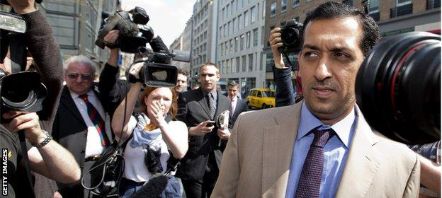 Godolphin trainer Mahmood al-Zarooni was banned for eight years in 2013