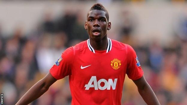 Pogba made just seven first-team appearances during his time at Old Trafford without scoring a single goal