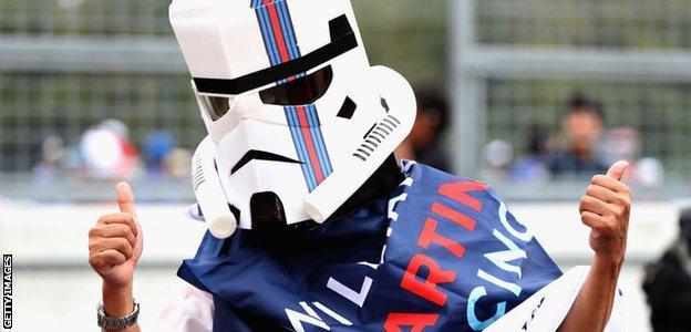 Williams Storm Trooper fan