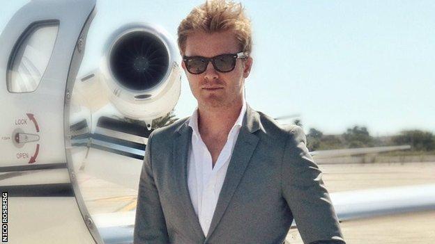 Nico Rosberg on Twitter