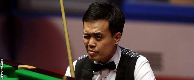 The Scottish Open was Marco Fu's third ranking title victory - his first since 2013