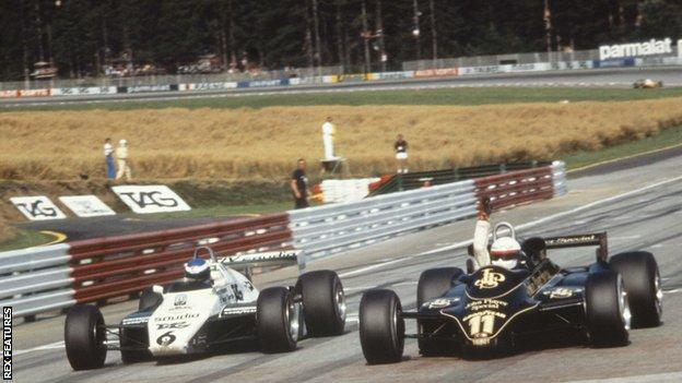 elio de angelis wins in austria