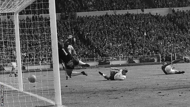 Geoff Hurst scored England's third goal