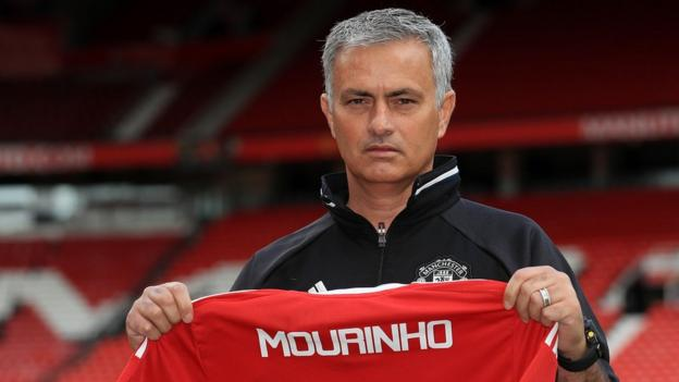 Jose Mourinho: New Man Utd boss ready for challenges ahead
