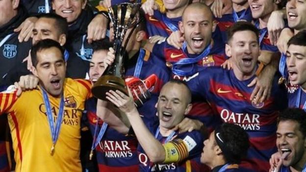 River Plate 0-3 Barcelona - BBC Sport