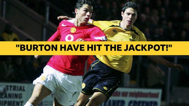 When Cristiano Ronaldo's Manchester United could not beat Burton Albion