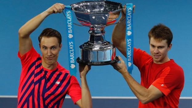 ATP World Tour Finals: Henri Kontinen and John Peers win doubles title - BBC Sport
