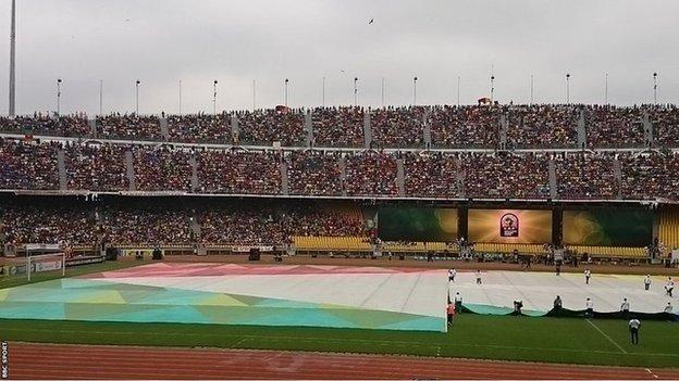 Stadium in Yaounde