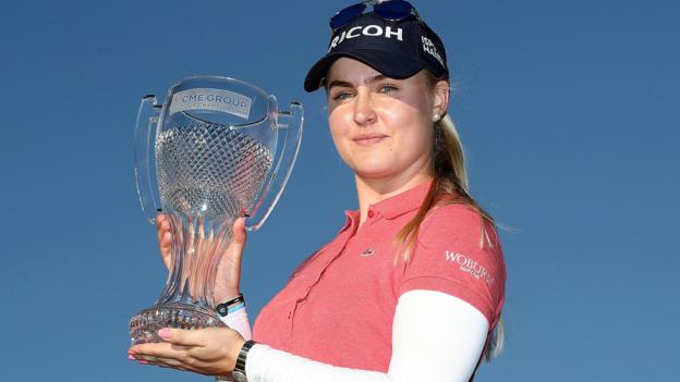 Image result for Charley hull wins cme