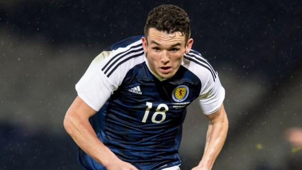John McGinn has Scotland future while at Hibs - Gordon ...