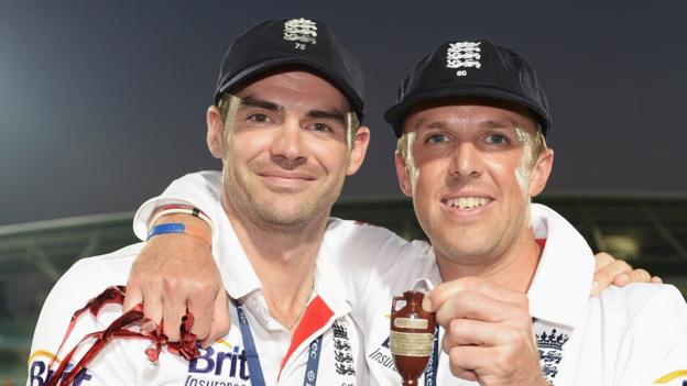 James Anderson: Graeme Swann on his friend's diet, sledging and music tastes