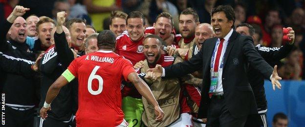 celebration - Wales