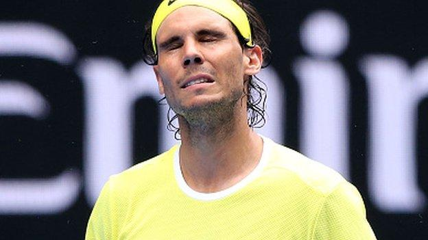 Rafael Nadal: Top seed loses to Dominic Thiem in Argentina - BBC ...