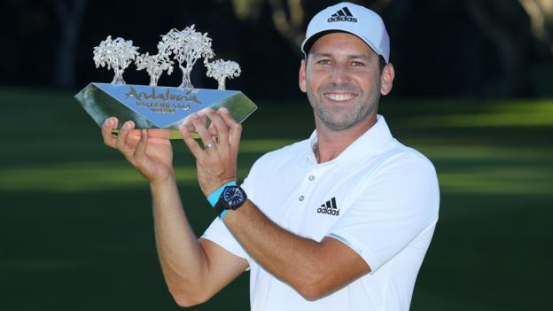 Andalucia Masters: Sergio Garcia wins by one shot from Joost Luiten