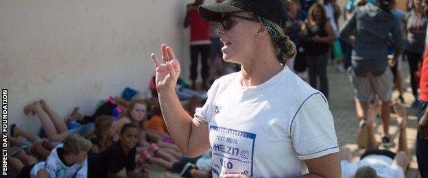 Mel Marshall in Zambia