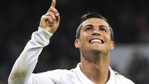 Cristiano Ronaldo: CR7 name given to discovered galaxy - BBC Sport