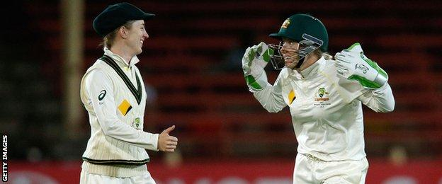 Rachael Haynes and Alyssa Healy