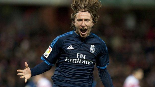 Granada CF 1-2 Real Madrid - BBC Sport