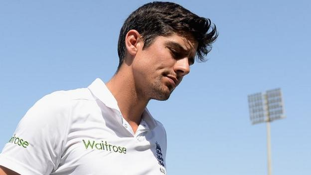 England captain and opening batsman Alastair Cook