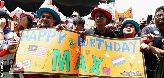 Max Verstappen fans