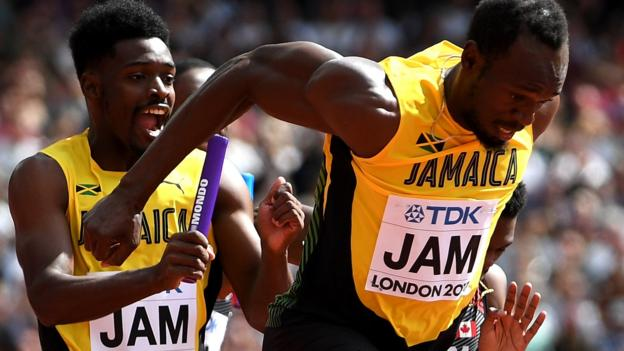 Bolt's Jamaica & GB through to 4x100m relay final