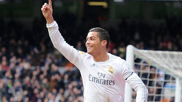 Real Madrid 5-1 Sporting Gijon - BBC Sport