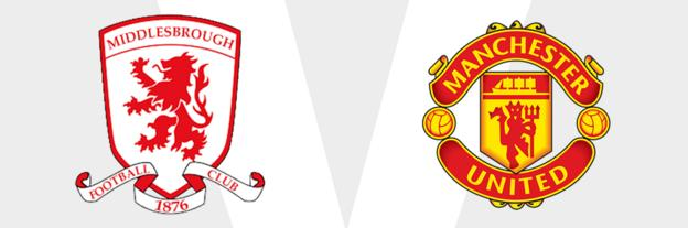 Middlesbrough v Man Utd