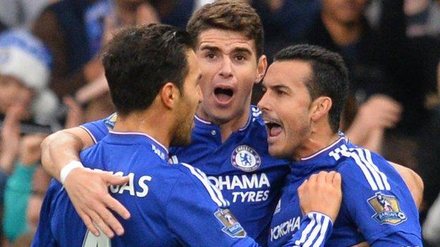 Chelsea 3-1 Sunderland - BBC Sport