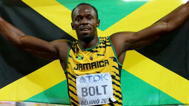 Usain Bolt beats Justin Gatlin in World Championships 200m final ...