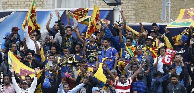 Sri Lanka were pipped to a place in the semi-finals by Pakistan