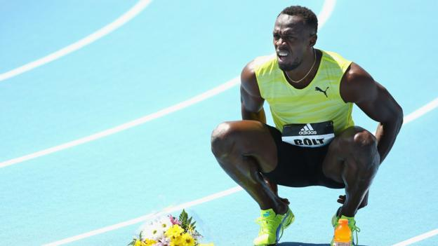 Usain Bolt withdraws from Paris & Lausanne races with injury - BBC ...