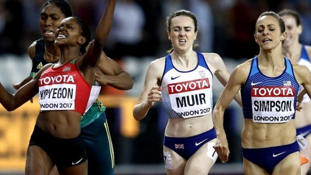 GB's Muir edged into fourth as Kipyegon wins 1500m gold