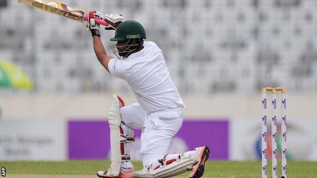 Tamim Iqbal hits out