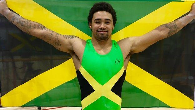 Reiss Beckford World Gymnastics Reiss Beckford chases Olympic dream for Jamaica
