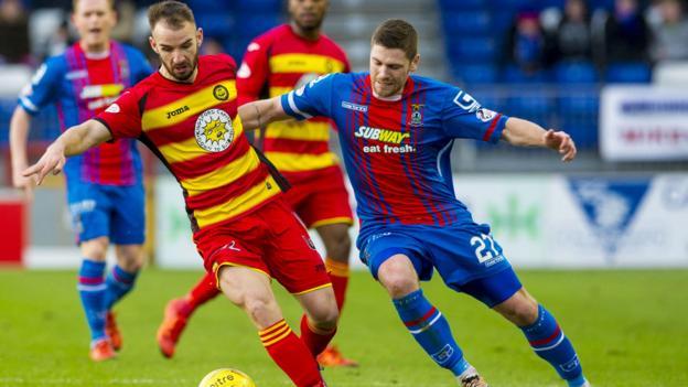 Inverness CT 0-0 Partick Thistle - BBC Sport