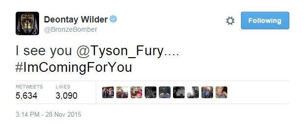 Deontay Wilder Twitter