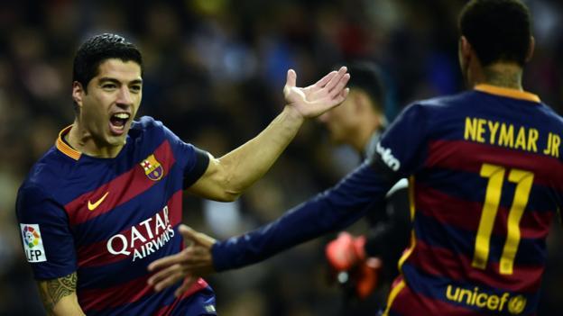 Real Madrid 0-4 Barcelona - BBC Sport