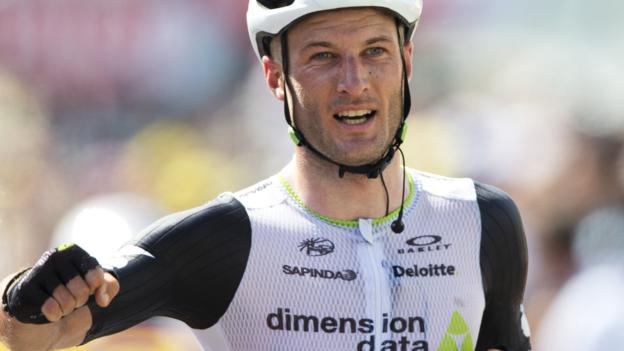 Tour de France 2016: Steve Cummings wins stage seven