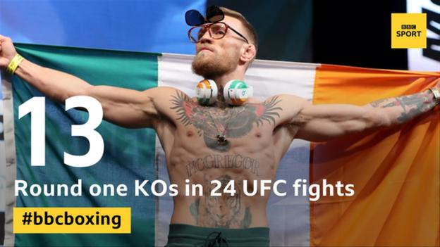 Floyd Mayweather v Conor McGregor: Raucous weigh-in completes fight build-up