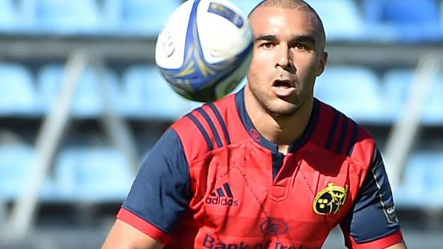 Simon Zebo: Ireland star leaving Munster to play abroad