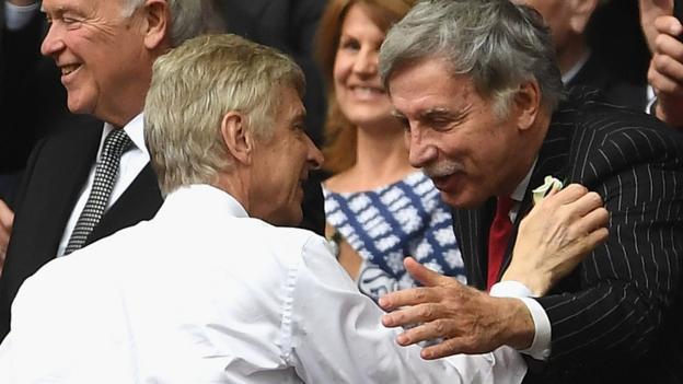 Arsene Wenger: Arsenal boss meets owner Stan Kroenke to ...