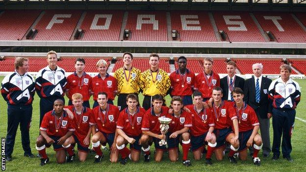 The last England team to win the final of the competition in 1993, when it as the European Under-18 Championship